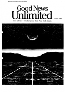 Good News Unlimited August 1985 Issue