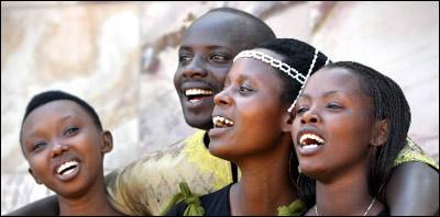 Rwandan Choir