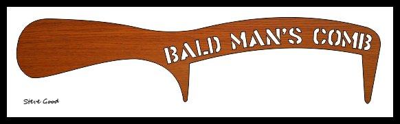 bald man's comb