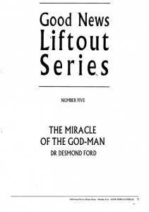 the miracle of the god man